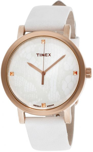 a16dc9959 Timex Originals Women's White Dial Leather Band Watch - T2P460 | KSA | Souq