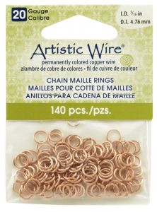 Magnadyne ft 16 gauge wire artistic wirecommon sense rcbeadalon artistic wire 20 gauge natural chain maille rings 316 inch diameter 140 pieces greentooth Gallery