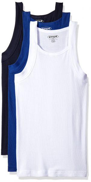 3039fe14a28c1b papi Men s 3 Pack Square Neck Tank Top