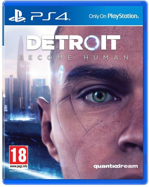Detroit: Become Human Video Game for Playstation 4 Rated Pegi 18
