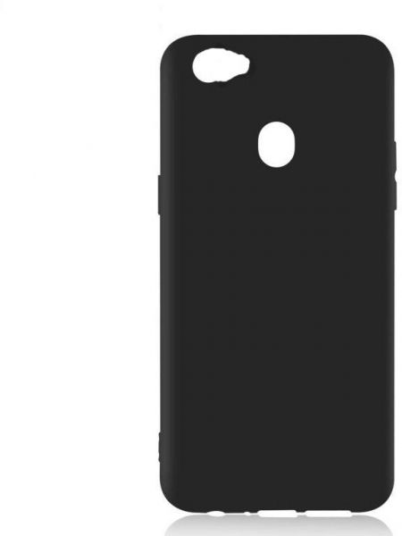 super popular 4cd15 6935d back silicone cover for oppo f7 -black