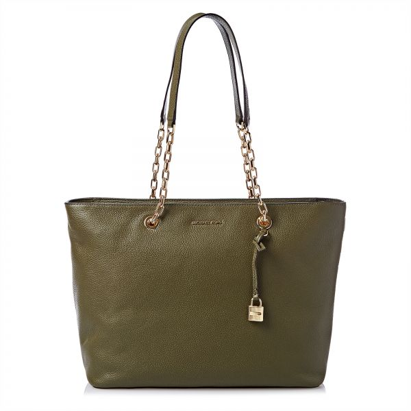 a9a6e8a8f971 Michael Kors 30H6GM9T9L-333 Mercer Tote Bag for Women - Olive