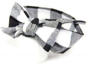 f769f43ee1b0 Cotton Baby Hair Band for Little Girl - Black and White
