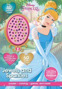 Disney Princess Jewels And Sparkles Activity Book With Jewel Stickers