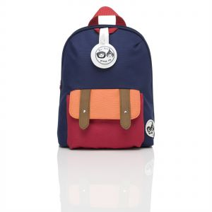4ef448aef03 Zip   Zoe Mini Block Backpack for Kids with Safety Harness - Blue