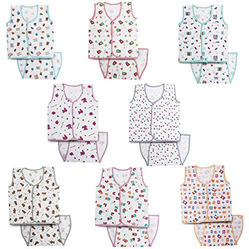 4931f0126177 Kurtzy New Born Baby Dress Pure Cotton Jabla Clothing with Nappies ...