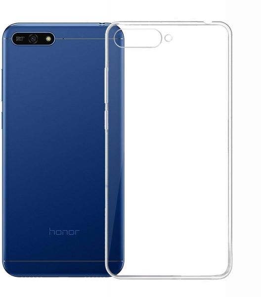 the best attitude 7e8c0 9a5c4 Huawei Y6 Prime 2018 case, Smooth Silicone Back case Cover for Huawei Y6  Prime 2018, Clear
