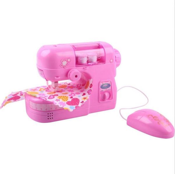 Souq Children's Electric Simulation Sewing Machine Toys With Cool Sewing Machine Sound