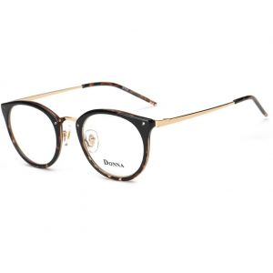 e3475427137 DONNA Stylish Clear Lens Glasses Samll Circle Frame Blue Light Blocking for  Computer