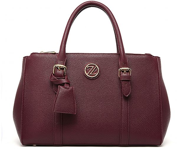Zeneve London Bag For Women Purple Satchels Bags