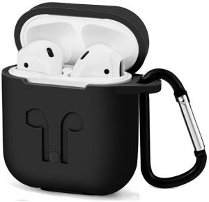 meet ed593 87ba5 Protective Sleeve For Apple Airpods Silicone Case For AirPods Charging Case  Cover Free Lanyard