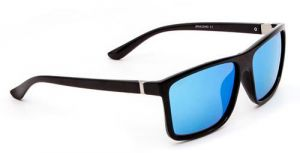 3a48713715 Polarized Sunglasses With UV 400 Lens Protection Sun Glasses for Men  Outdoor Driving Special (Black Frame  Blue Lens)