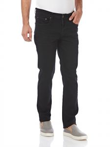 6247630dae ICONIC Straight Jeans for Men - Black