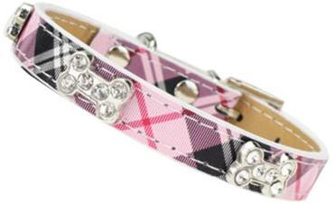 Bling Rhinestone Dog Collars Pet PU Leather Crystal Diamond Puppy Pet Collar blue Collars And Leashes For Dog Accessories