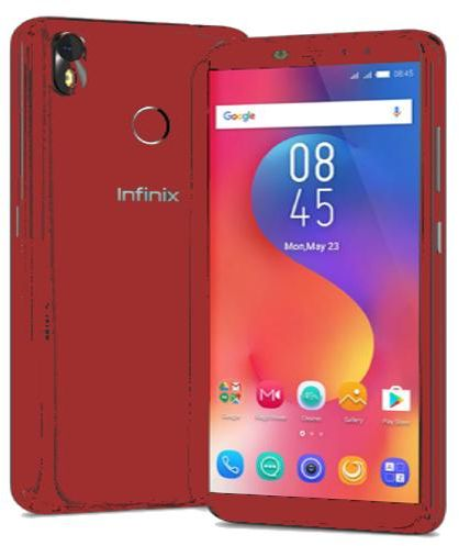 Infinix Hot S3 X573 Dual SIM - 32GB, 3GB RAM, 4G LTE, Red