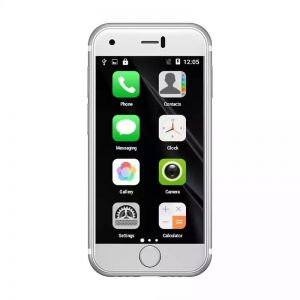 Super Mini Android Smartphone Dual SIM soyes 7s white color