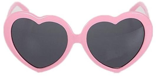 d4a49a24e27 Heart-Shaped Sunglasses Women Vintga Black Pink Red Heart Shape Sun Glasses  pink. by Other