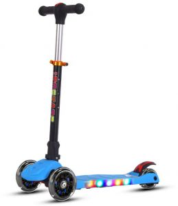 Sled Scooter 125 Wheel Sled Two-in-one Children Scooter Snow Slide Fast Color Sports & Entertainment Kick Scooters,foot Scooters
