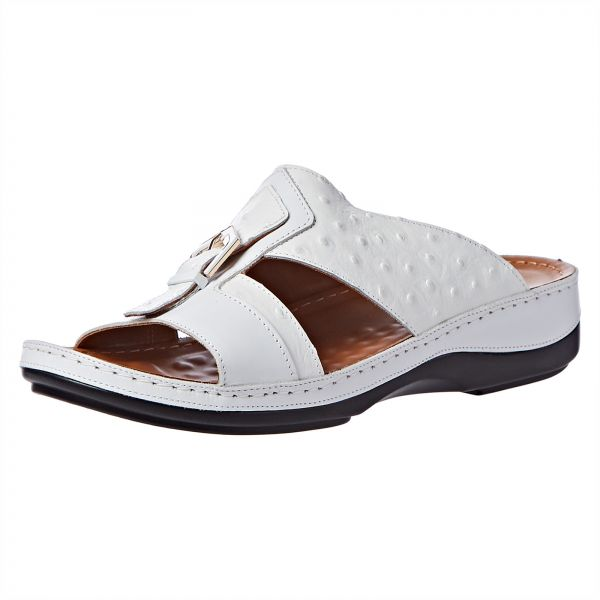 ca5d199eaf3 Comfort Plus Arabic Sandals for Men - White
