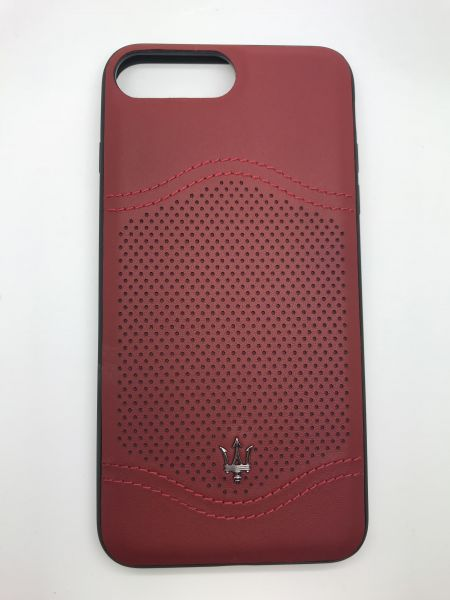 pretty nice d4ca7 328c5 Maserati case red cover for Apple iPhone 7 Plus & 8 Plus