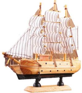 Sailing Tall Ship Boat Wooden Model Craft Decor-Cutty Sark Style Sailing  Ship-Model Ship Wood Replica- Sailing Ship Model-Sculpture-Bathroom 2f1fdf6f067