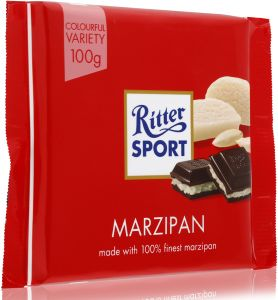Ritter Sport Ritter Sport Marzipan Chocolate 100 Gm Buy Online Confectionery At Best Prices In Egypt Souq Com