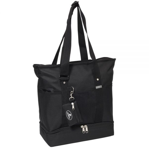 fb70b0cd1c8bf Everest Luggage Deluxe Shopping Tote
