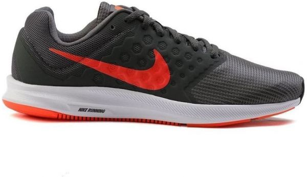 Nike Downshifter 7 Running Shoes For Men - Black Red  dcdb21e6eda