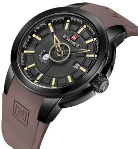 4ac082d237acc Naviforce Casual Watch For Men ,Analog ,Silicone Band ,Nf9107_BB