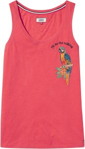 f6176c19b Tommy Hilfiger LIGHT Shirt Neck Shirts For Men Tank Top for Women - Red