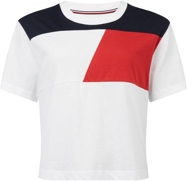 bf6ae34daea Tommy Hilfiger T-Shirt for Women - White. by Tommy Hilfiger