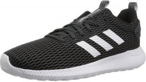 sports shoes 5bf28 fb673 adidas Cloudfoam Lite Racer CC Running Shoes for Men - Black  White