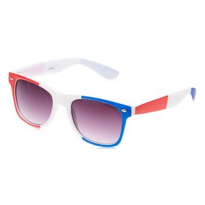 ddf6201000 TFL Wayfarer style World Cup Sunglasses Red White Blue Flag Theme - TFL  023882F RWB