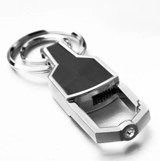 Jaguar Car Key Chain Metal Logo Auto Keychain  dd517cc9563c