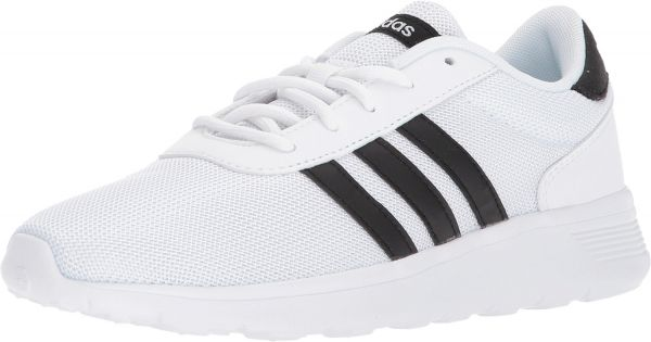 430303ce8a3 adidas Lite Racer Sports Sneakers for Women - White   Black
