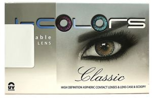 new style 2776a fb5b7 I-colors 8805455460813 Contact lenses for Women 0, Blue
