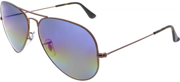 2781d49f07 Ray-Ban Aviator Unisex Sunglasses - RB3025-9019C2-62 - 62-14-140mm