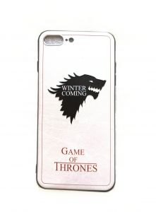 iPhone Case Cover for iPhone 7 Plus & 8 Plus - Game of Throne - The North House of Stark Icon