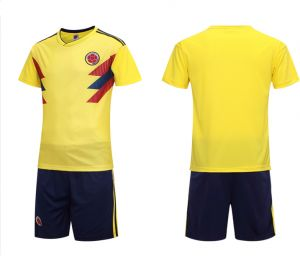 7860138afad4f FIFA Russia World Cup 2018 Soccer Colombia Team Jersey short-sleeved T-shirt  XL code