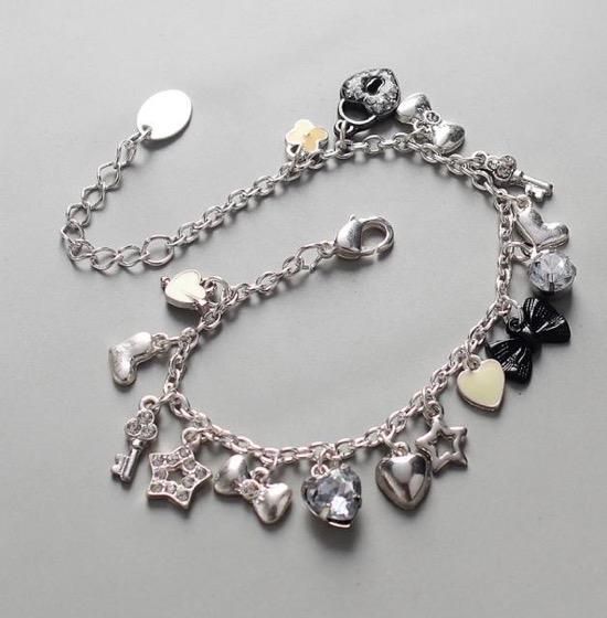 Women Bracelet Casual And Stylish Funky With Multi Charms