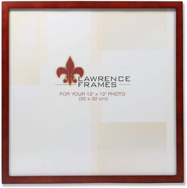 Lawrence Frames 755612 Walnut Wood Picture Frame, 12 by 12-Inch ...