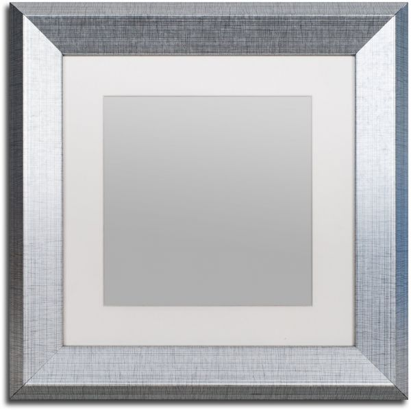 Souq | Trademark Fine Art Heavy Duty 11x11 Silver Picture Frame with ...