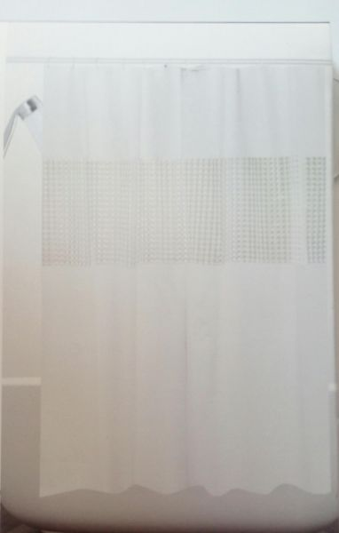Eco Friendly Long Sized Bath Shower Curtain