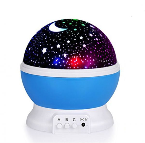 Baby Night Light Remote Control Star Projector With Timer Music