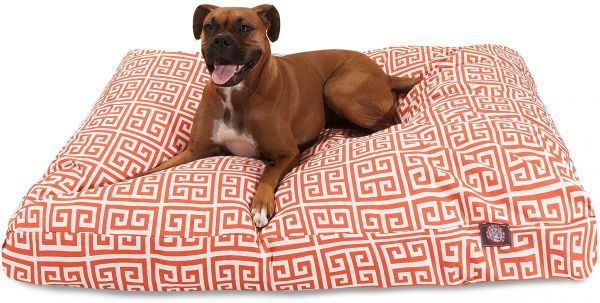 Souq | Orange Towers Small Rectangle Indoor Outdoor Pet Dog Bed With ...