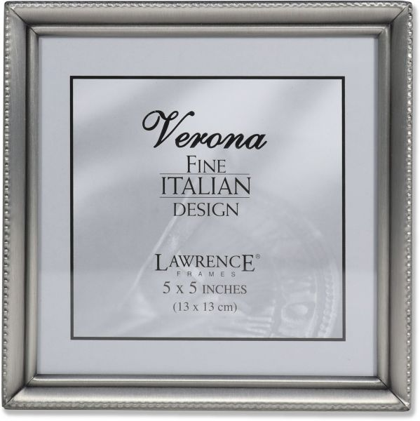 Souq | Lawrence Frames Antique Pewter 5x5 Picture Frame - Bead ...