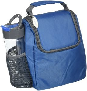 3f45f70ab3 Fit   Fresh Insulated Lunch Bag with Matching 16 oz. Tritan Plastic Water  Bottle