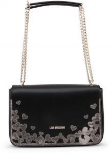 78bd45024d7a Love Moschino Women s Black Shoulder Bag JC4295PP05KN 0000