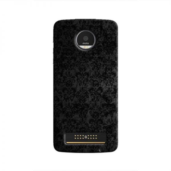 Cover It Up Dark Classic Wallpaper Moto Z Play Hard Case Souq Uae