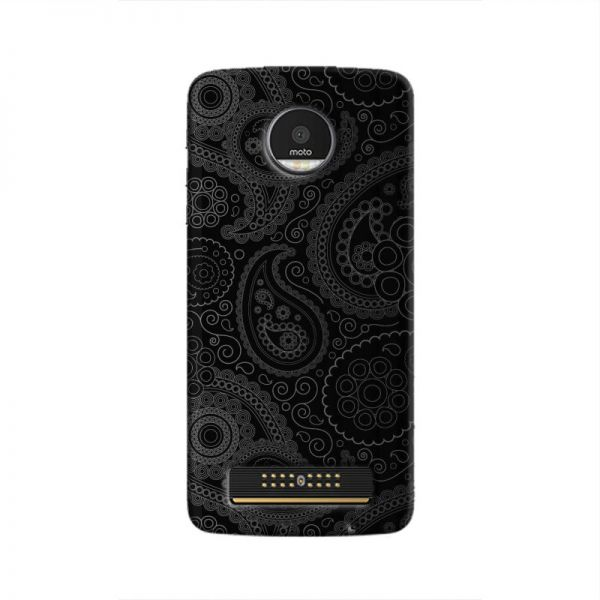 Cover It Up Dark Curves Wallpaper Moto Z Play Hard Case Souq Uae